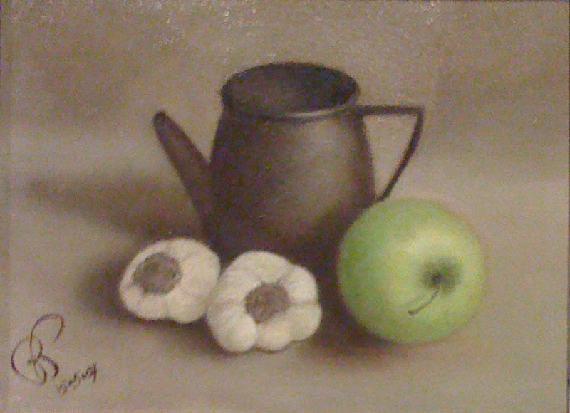 Green Apple & Garlic