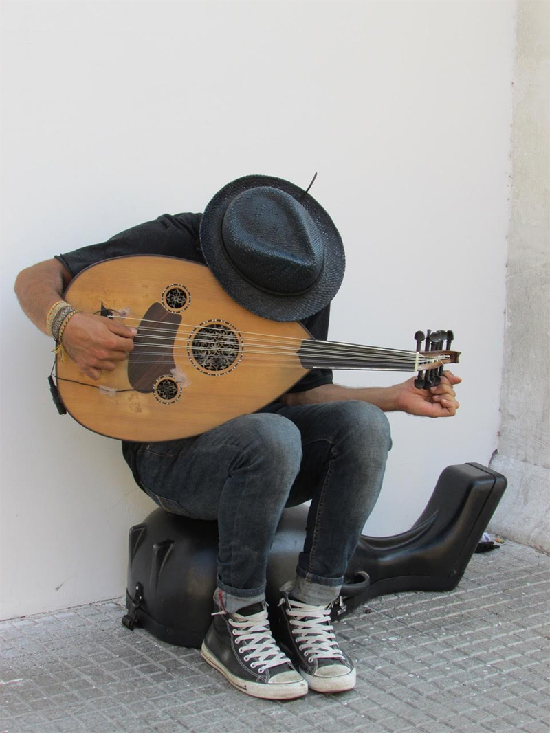 Street Musician Cartagena