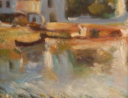 Sisley – Chardin Under Painting